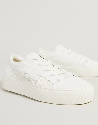 UGG Zilo knit trainers in white