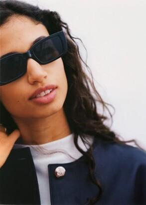MANGO Squared frame sunglasses
