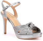 Antonio Melani Laurey Bow Detail Leather Dress Sandals