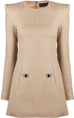 David Koma Knitted Dress