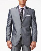 Sean John Grey Striped Classic-Fit Jacket