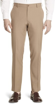 Geoffrey Beene Men's Slim Fit Flat Front Non Iron Dress Pant