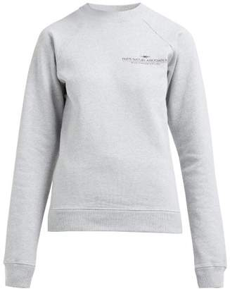 Phipps - Logo Cotton-jersey Sweatshirt - Womens - Grey Multi