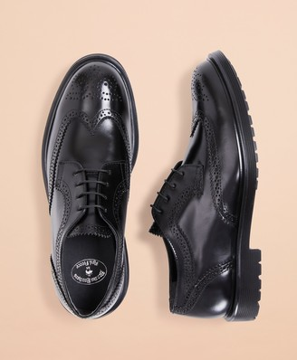 Brooks Brothers Leather Brogue Dress Shoes