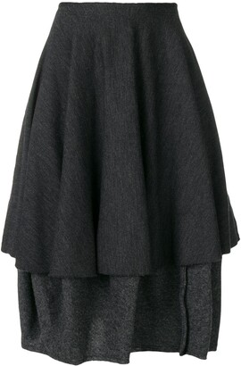 Comme Des Garçons Pre Owned 1990's Midi Skirt