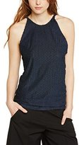 By Zoé Women's Sleeveless Vest - Blue -