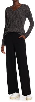 Amicale Cashmere Wide Leg Pants
