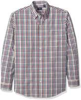 Arrow Men's Long Sleeve Plaid Hamilton Shirt