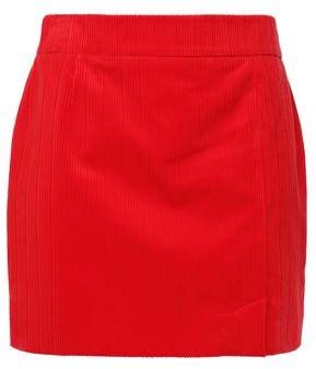 Bella Freud Cotton-corduroy Mini Skirt