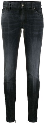 DSQUARED2 Zippered Ankle Tapered Trousers