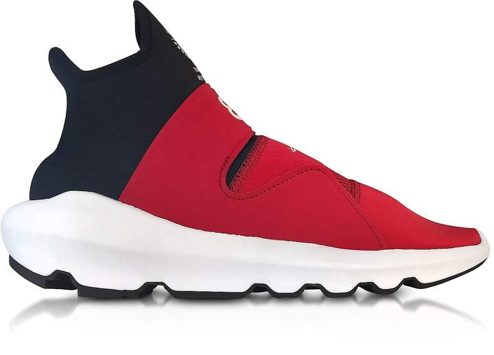 Y-3 Chili red Suberou Slip on Sneakers