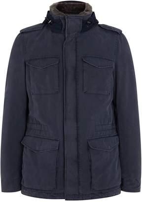 Herno Beaver Collar Field Jacket