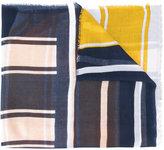 Tommy Hilfiger printed stripe scarf - women - Modal - One Size
