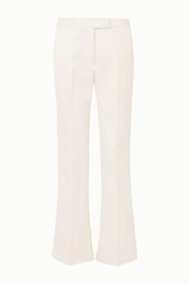 3.1 Phillip Lim Twill Straight-leg Pants - White