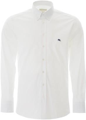 Etro Logo Embroidered Shirt