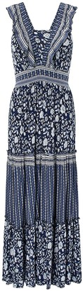 Monsoon Farrah Jersey Lenzing Ecovero Maxi Dress - Navy