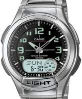 Casio Men's AQ180WD-1BV Ana-Digi Light Watch