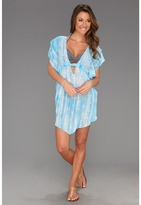 Becca by Rebecca Virtue - Verona Tunic Cover Up (Sky) - Apparel