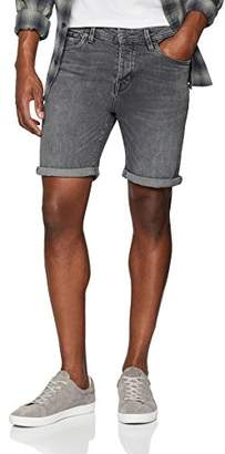Selected Men's Shnalex 309 Lt Shorts STS Light Grey Denim, (Size: Small)