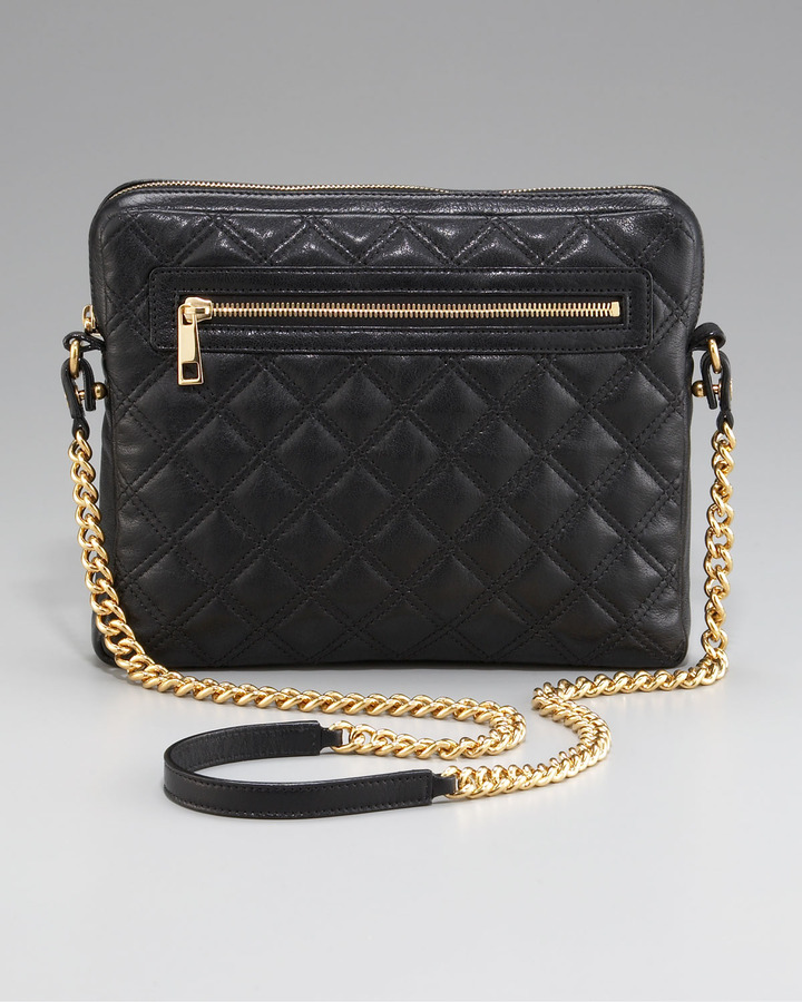 Marc Jacobs Quilted Crossbody iPad Case