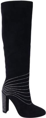 Selina Women's Casual boots BLACK - Black & Pewter Rhinestone-Embellished Bootie - Women