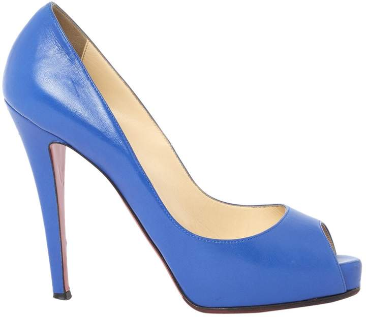 """Christian Louboutin """"Very Privé"""" leather court shoes"""