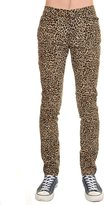 Run & Fly Mens Indie Hipster Punk Rock Leopard Stretch Skinny Jeans