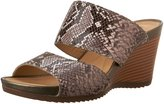 Geox Women's D New Rorie C High Wedge Mule Sandal