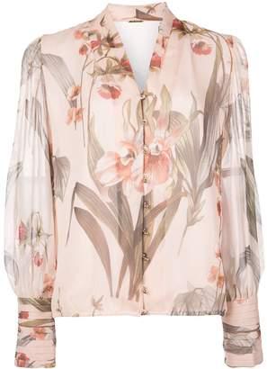 Elie Tahari floral print blouse