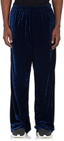 Balenciaga Men's Stretch-Velour Track Pants