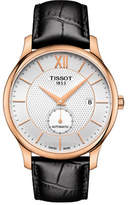 Tissot Analog Tradition Two-Tone Leather Strap Watch