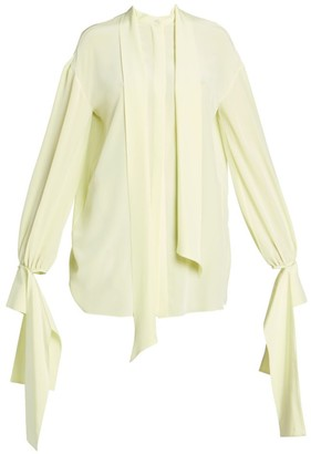 Rokh Draped Detachable Cuff Blouse