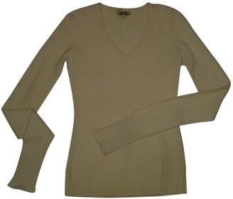 Hermes Ecru Wool Knitwear for Women Vintage