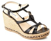LK Bennett L.K.Bennett Andra Leather Espadrille Wedge.