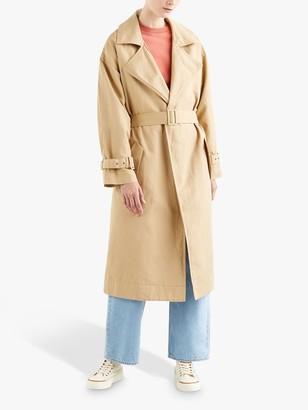 Levi's Miko Linen Cotton Trench Coat, Neutral