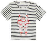 Simple Sale - Robot Striped T-Shirt