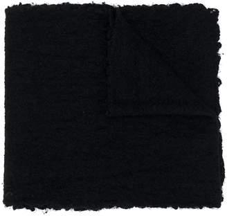 Faliero Sarti fringed textured scarf