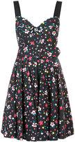 Marc Jacobs painted flower corset top dress