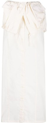 Jacquemus La jupe Cueillette layered long skirt