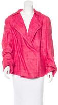 Akris Punto Silk Tweed Jacket