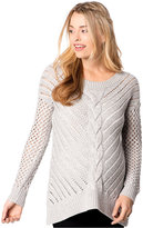 Wendy Bellissimo Maternity Open-Knit Sweater