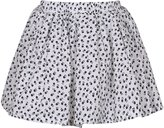 Richie House Girls' Floral Skirt with Elastic Waistband RH2686-B