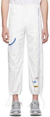 Ader Error SSENSE Exclusive White ASCC Oversized Lounge Pants