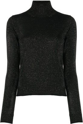 Nuur Glitter Merino Wool Turtleneck Jumper