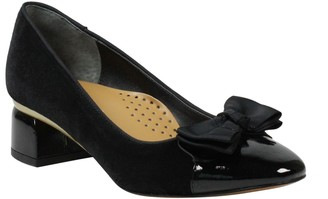 J. Renee Gelar Bow Cap Toe Pump