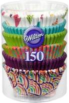 Wilton Standard Baking Cup Neon Retro 150 ct