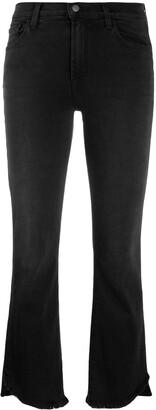J Brand 'Selena' Crop Boot Jeans