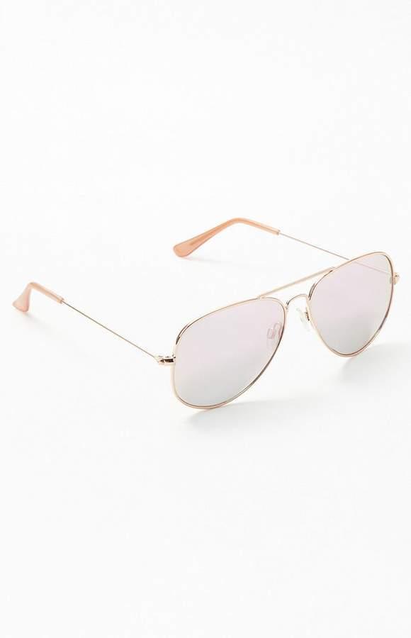 d18d5fa3b449 Rose Tinted Sunglasses - ShopStyle