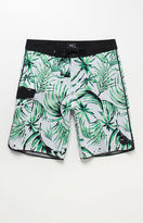 "Vans Mixed Scallop Palm Leaf 20"" Boardshorts"