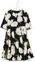 Dolce & Gabbana tulip print dress